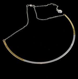 BCBGeneration Curved Bar Necklace